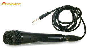 Pronex Wired Black Handheld Microphone