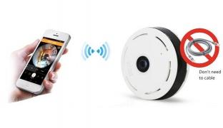 HD Wifi Panoramic Wireless Camera 360 Degree IP Fisheye