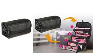 Roll-N-Go Cosmetic Roll Up Bag
