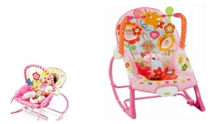 Infant To Toddler Pink Rocker Chair