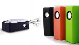 Near Field Universal Wireless Portable Speaker For Android & iPhone - Black