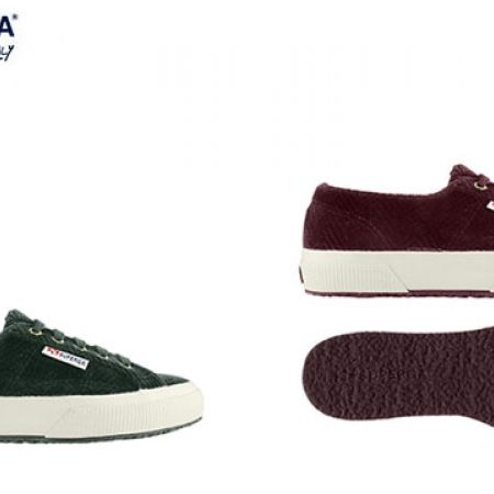 Superga 2750 Curveflannelw Sneakers For