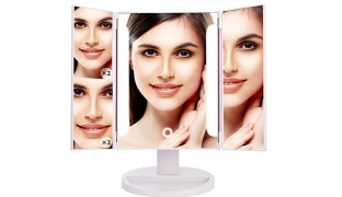 Portable Touch Screen Large Illuminated 36 Leds Vanity Mirror