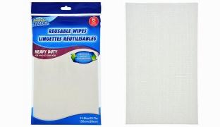 Pack Of Scrub Buddies Heavy-Duty Reusable Wipes 6 Pcs
