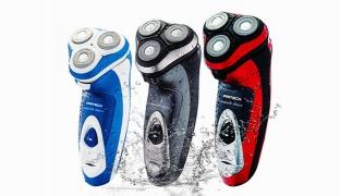 Pritech Electric Waterproof Cordless Shaver For Men 3 W - Blue