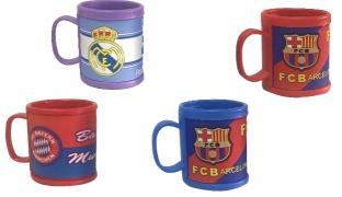3D Kids Rubber Mug - Real Madrid