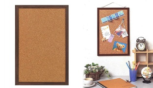 Raymay Small Cork Board 300 x 450 x 15 mm