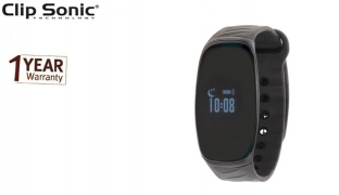 Clip Sonic Activity Tracker Wristband With Heart Rate Monitor