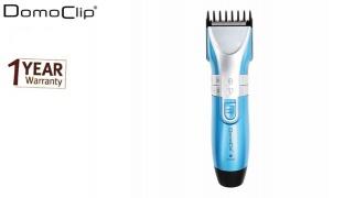 Domoclip Multifunction Blue & Silver Rechargeable Hair, Beard & Body Mower For Men