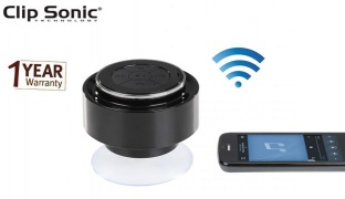 Clip Sonic Waterproof Speaker With Microphone 3 W