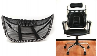 Cushion Pad Massage Seat Back Support For Car & Office