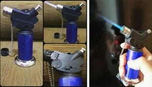 Blue Torch Flame Nozzle