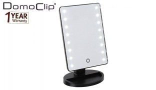 Domoclip Rectangular Touch Light Mirror