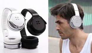 2 In 1 Sodo MH3 Foldable Bluetooth Wireless Speaker Headphones - Silver