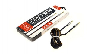 Earldom Standard Plug Fully Compatible AUX Cable 1.6 m
