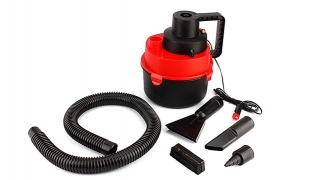 Set Of Portable Wet & Dry Canister Vacuum Cleaner For The Car 12 V 4 Pcs
