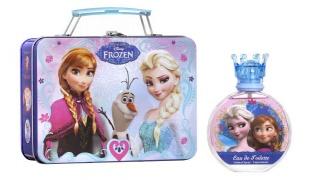 Disney Frozen 2 Pcs Gift Set EDT 100 ml & Metallic Lunch Box For Kids