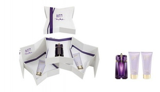 Thierry Mugler Alien 3 Pcs Gift Set EDP 60 ml , Body Lotion 100 ml & Shower Gel 100 ml For Women