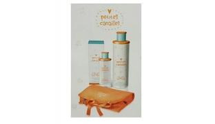 Sireta Petites Canailles 3 Pcs Gift Set Eau De Soin Alcohol Free 125 ml, Shower Gel 400 ml & Bag For Babies