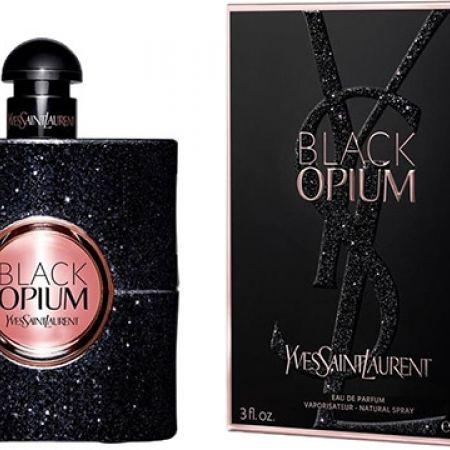Yves Saint Laurent Black Opium Eau De Parfum For Women 90 Ml Makhsoom
