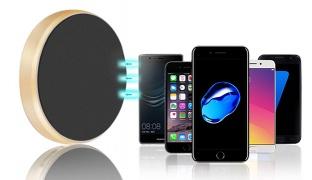 Earldom ET-EH18 Multifunction Universal Gold Magnetic Car Mount Holder For Smartphones