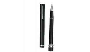 Cerruti NS2144 Black & Silver Ballpoint Shell Pen