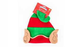 Novelty Elf Christmas Hat