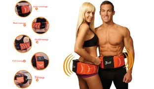 Electric Multifunction Gymform Dual Shaper Slimming Massage Belt