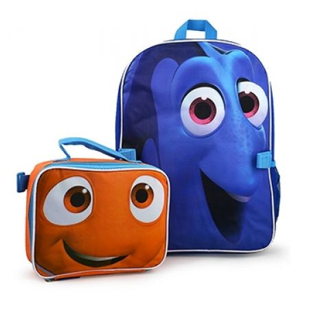 dfd1f29e8d0 Pocket Money Disney Finding Dory Backpack With Lunch Bag - Makhsoom