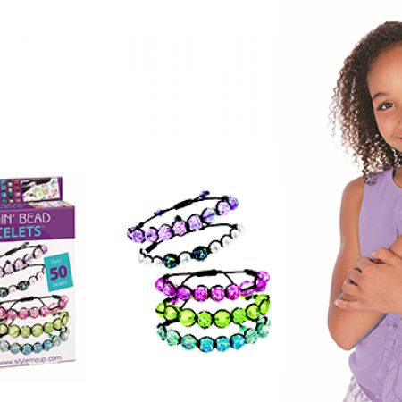 Style Me Up Shamballa Blingin' Bead Bracelet Kit