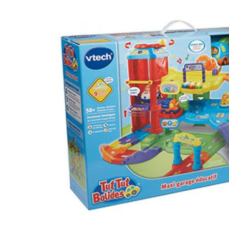 V Tech Garage : Vtech tut tut bolides maxi educational garage makhsoom