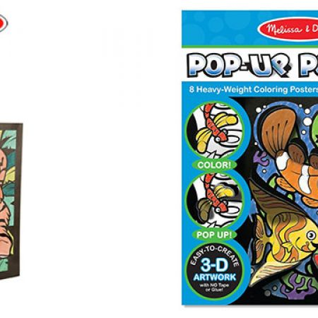 Melissa & Doug Pop-Up Posters Animals