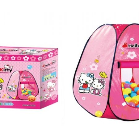 Hello Kitty Play Tent With 50 Colorful Balls