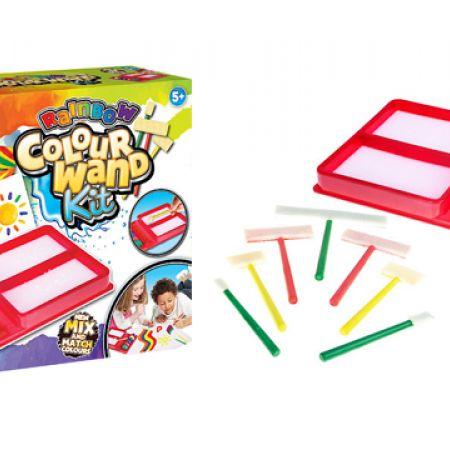 Grafix Rainbow Colour Wand Kit