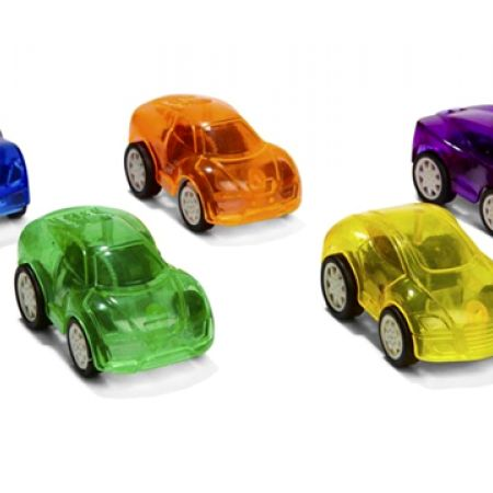 Set Of 5 Pack Friction Cars