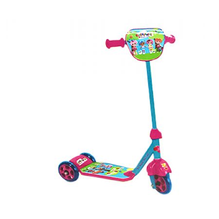 Lalaloopsy 3 Wheels My First Scooter With Helmet Elbows & Knee pads