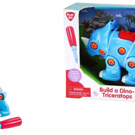 Playgo Build A Dino Triceratops