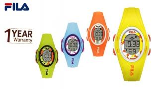 Fila Digital Colorful Watch For Kids - Yellow