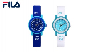 Fila Rubber Watch For Kids - Navy Blue