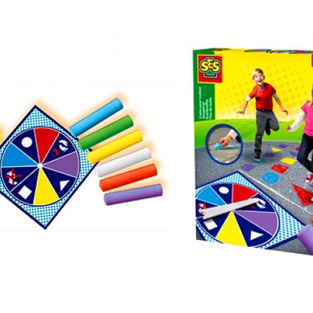 SES Twist & Jump Chalk Game