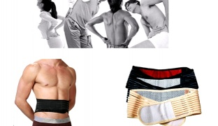 Tourmaline Beige Magnetic Self Heat Belt For Posture & Pain Relief One Size