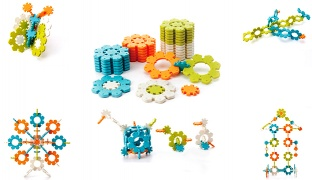 Icy Ice Building Toy Set - 32 Pcs