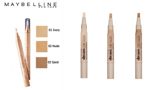 Maybelline New York Lumi Touch Highlighting Concealer - 01 Ivory