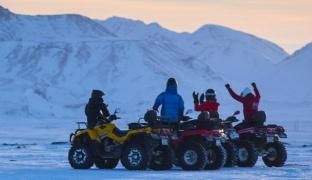 60 min. ATV Ride in 500 cc