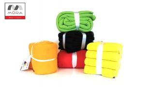 Mora Blanket Fleece Double Size 220 x 240 cm - Black
