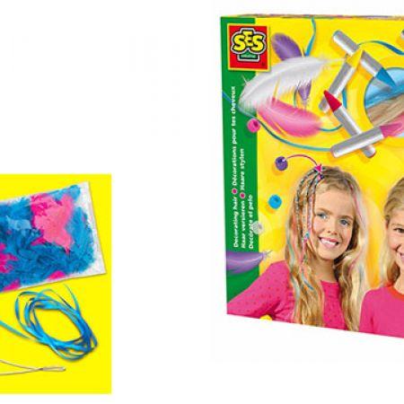 SES Creative Decorating Hair Kit