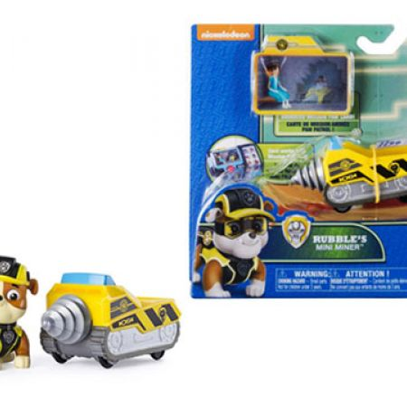 Spin Master Paw Patrol Mini Vehicle With Figure