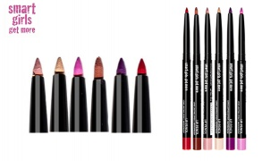 Smart Girls Get More Automatic Lip Pencil with Sharpener Long Lasting Effect - 101 Samba Red