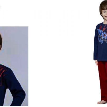 Roly Poly Looney Tunes Boys Pajamas Red 3 Yrs Makhsoom