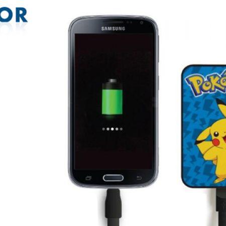 Kondor Pokemon Pikachu Credit Card Sized Power Bank 5000 mAh